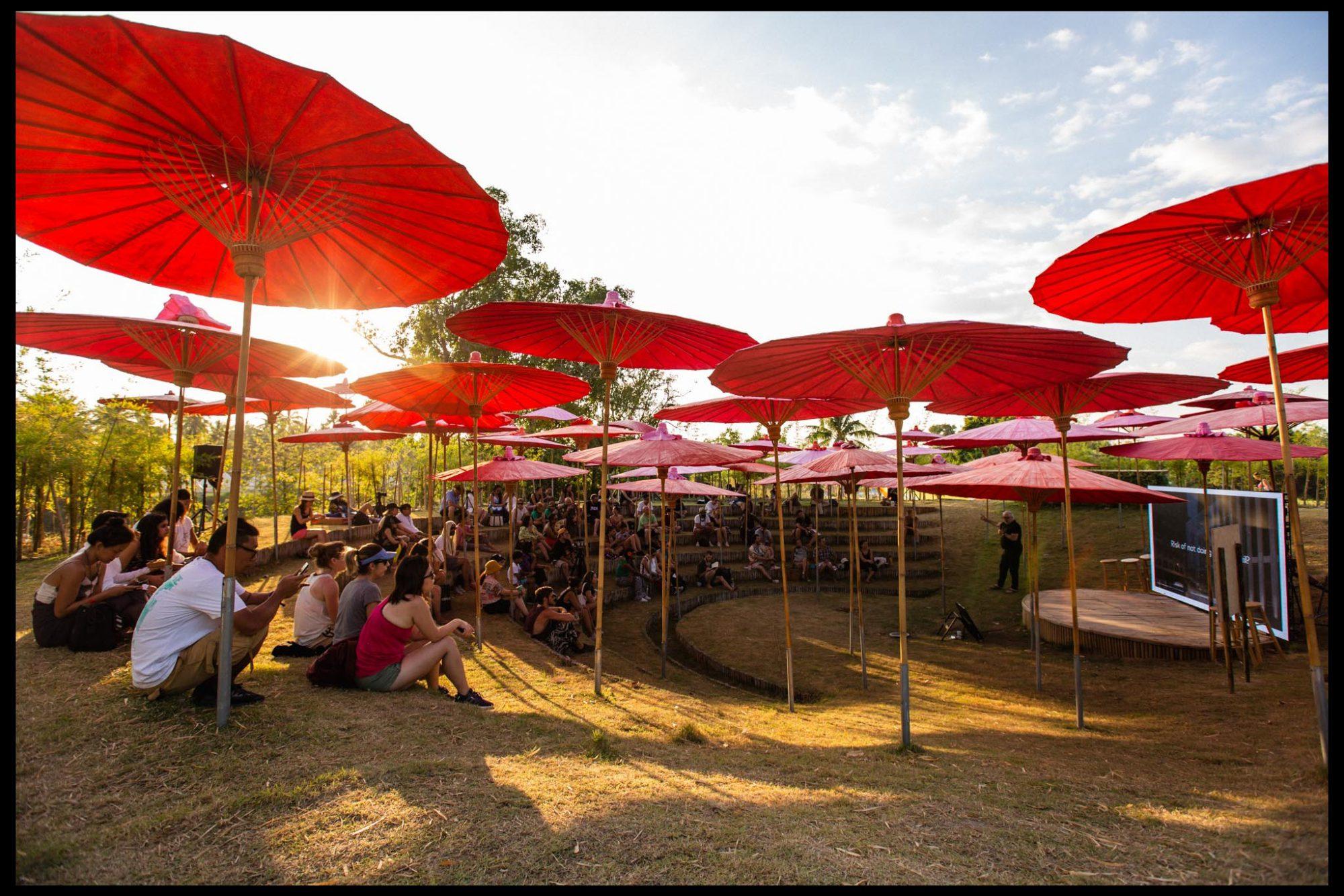 Eco-Pavillion at Wonderfruit Festival