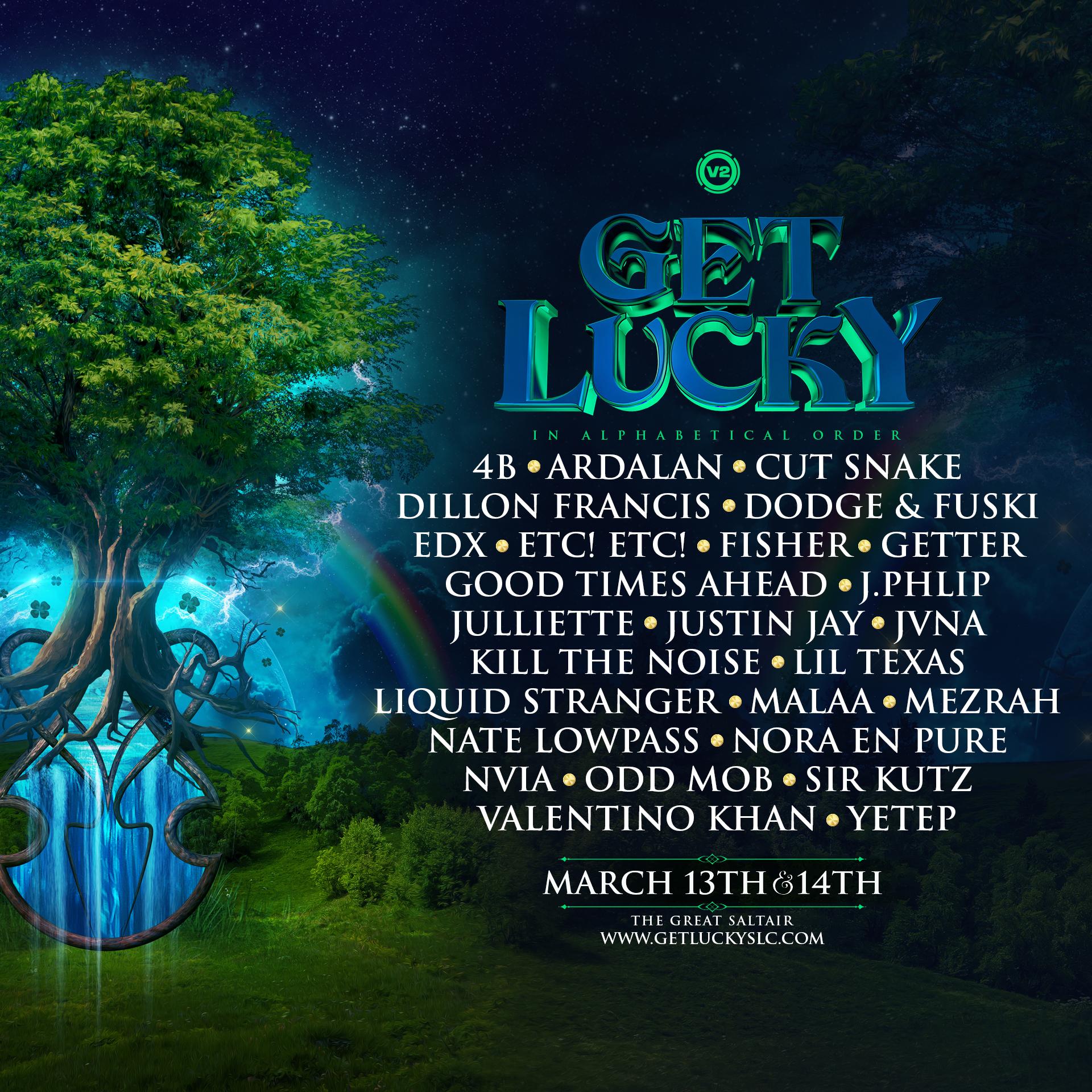 Get Lucky 2020 Lineup