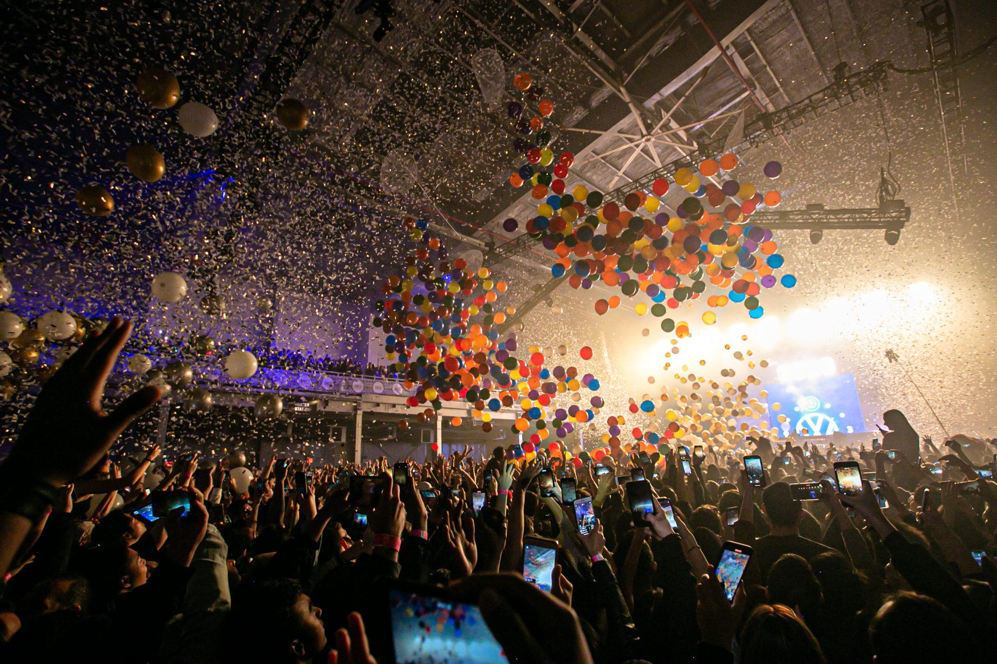 Above & Beyond Balloon Drop NYE NYC