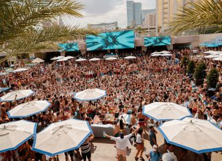 WET REPUBLIC Ultra Pool at MGM Grand Hotel & Casino in Las Vegas 2019 Season