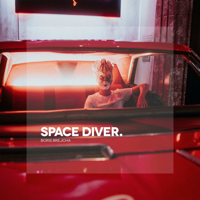 Space Diver by Boris Brejcha Album Cover