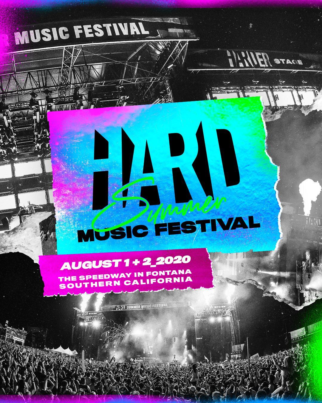 HARD Summer Music Festival 2020 Dates