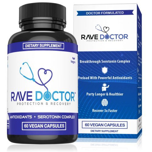 Rave Doctor Supplement Bottle