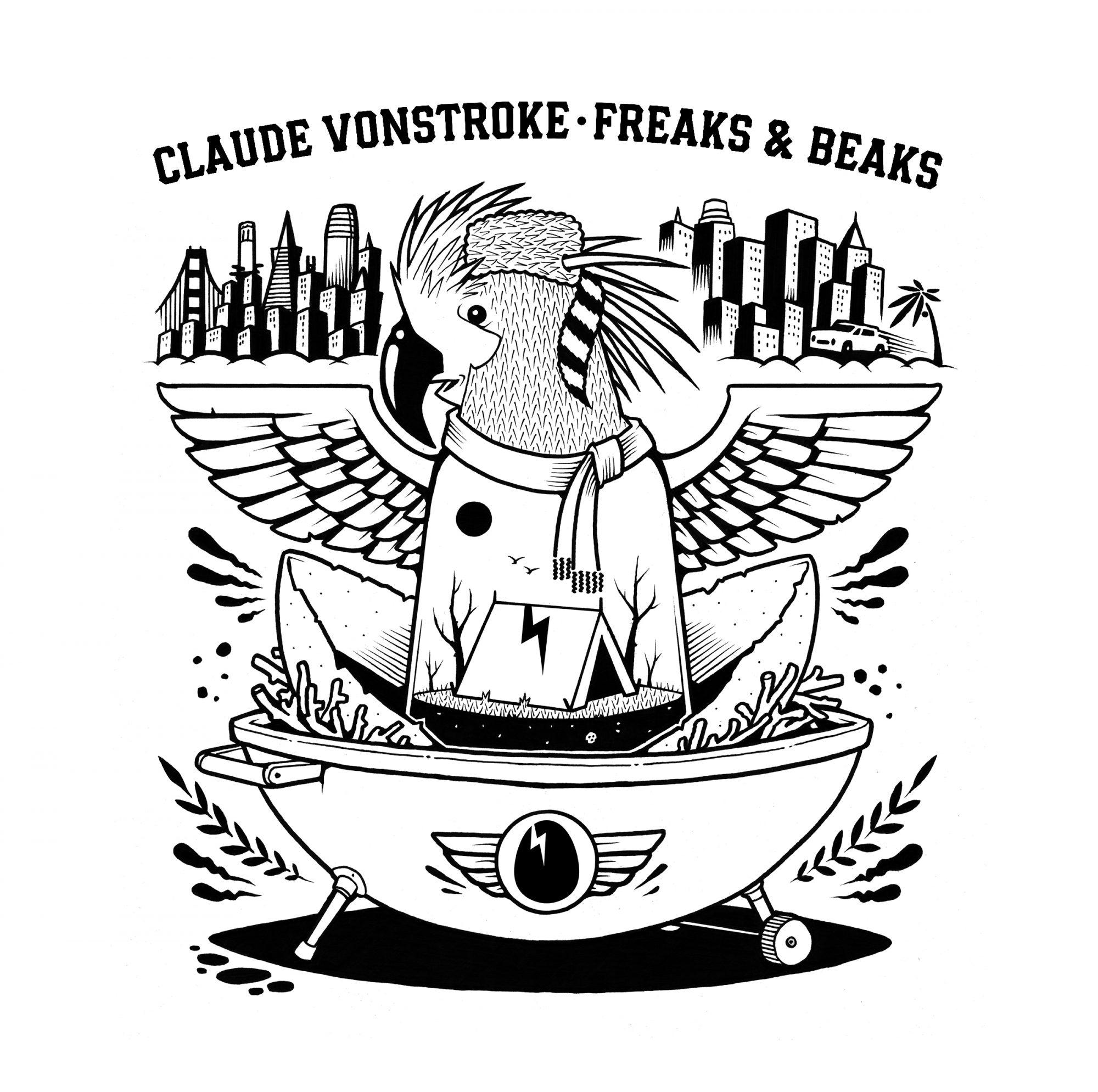Claude VonStroke - Freaks and Beaks Album Cover