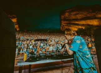 Liquid Stranger at Red Rocks