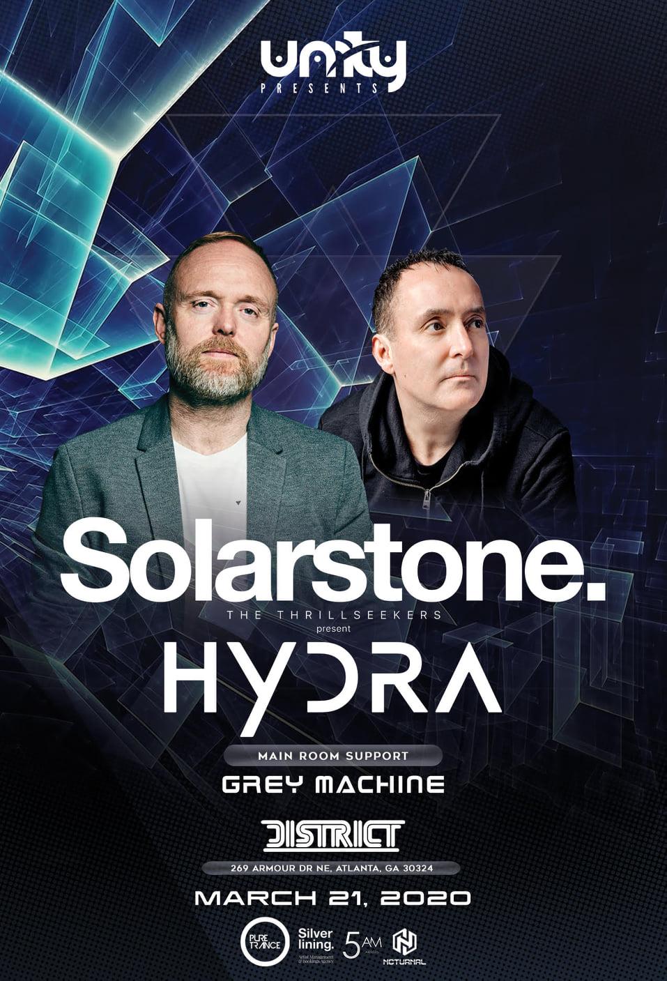Solarstone & The Thrillseekers Present Hydra @ District Atlanta
