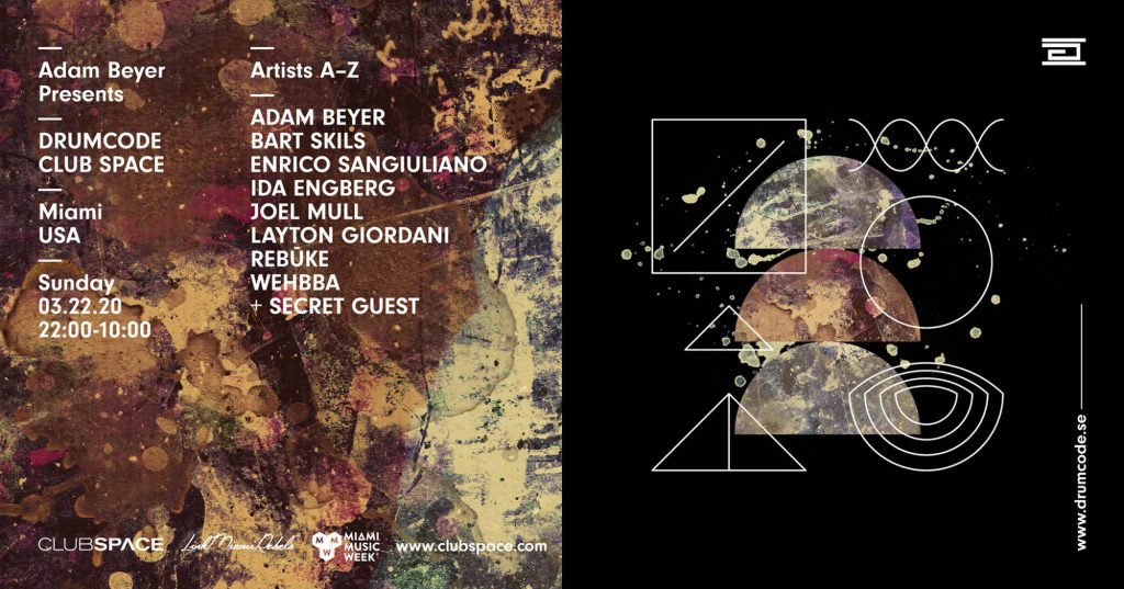 Drumcode, MMW, Club Space