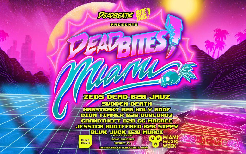 Deadbites Miami, Soho Studios, BLNK CNVS