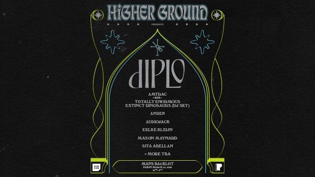 Diplo's Higher Ground, MAPS Backlot, BLNK CNVS