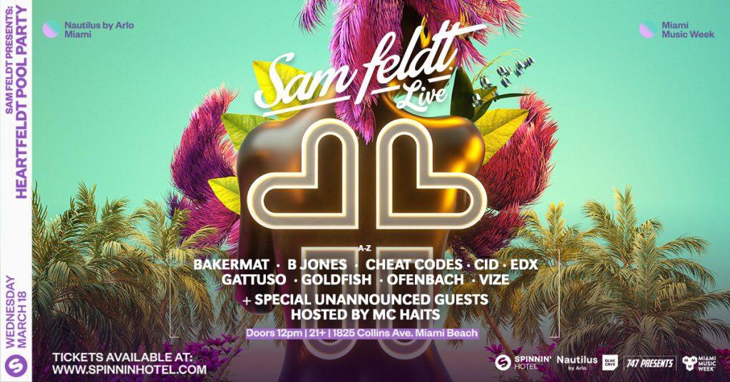 Sam Feldt Presents Heartfeldt Pool Party Lineup, BLNK CNVS