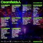 Creamfields 2020 Lineup Saturday