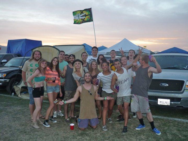 Coachella 2011 - First Coachella Music Festival Zach