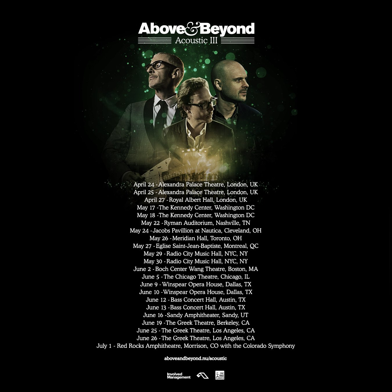 Above & Beyond Acoustic III Tour