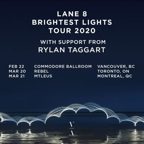 Rylan Taggart Support Brightest Lights Tour