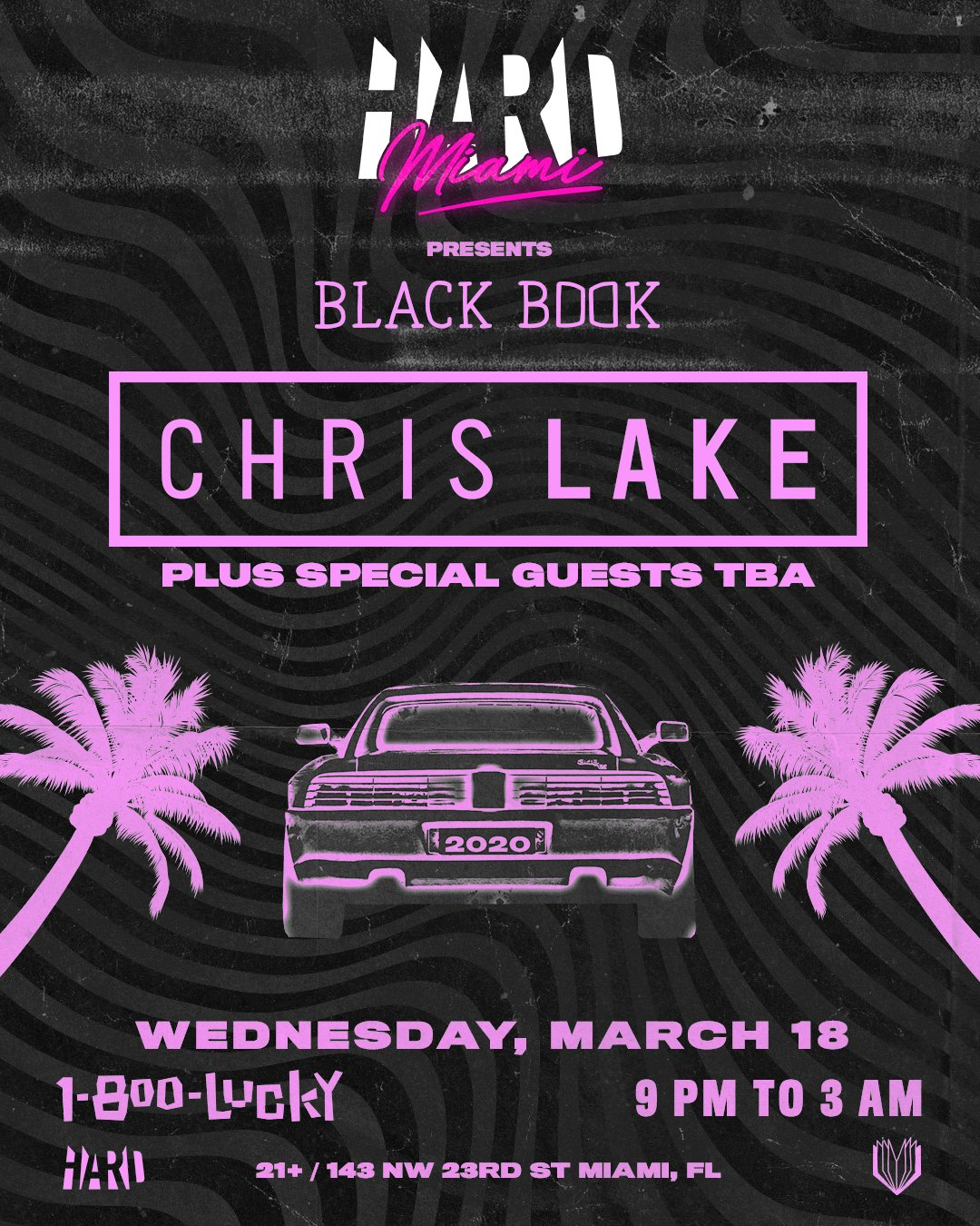 HARD Miami presents Black Book Records with Chris Lake