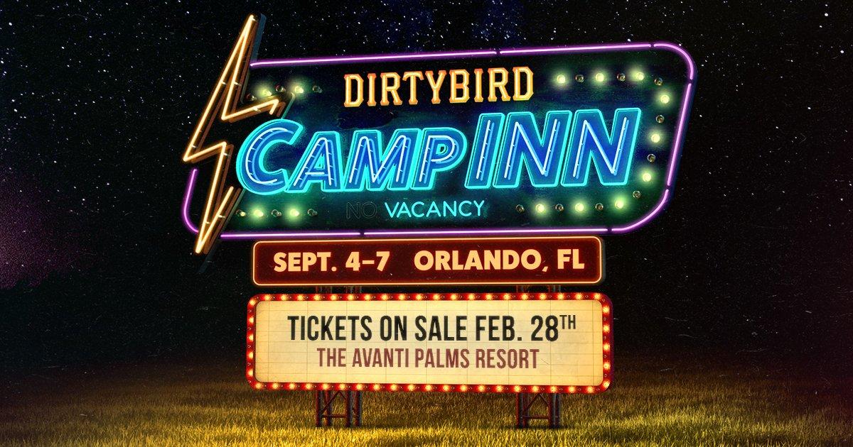 Dirtybird CampINN 2020