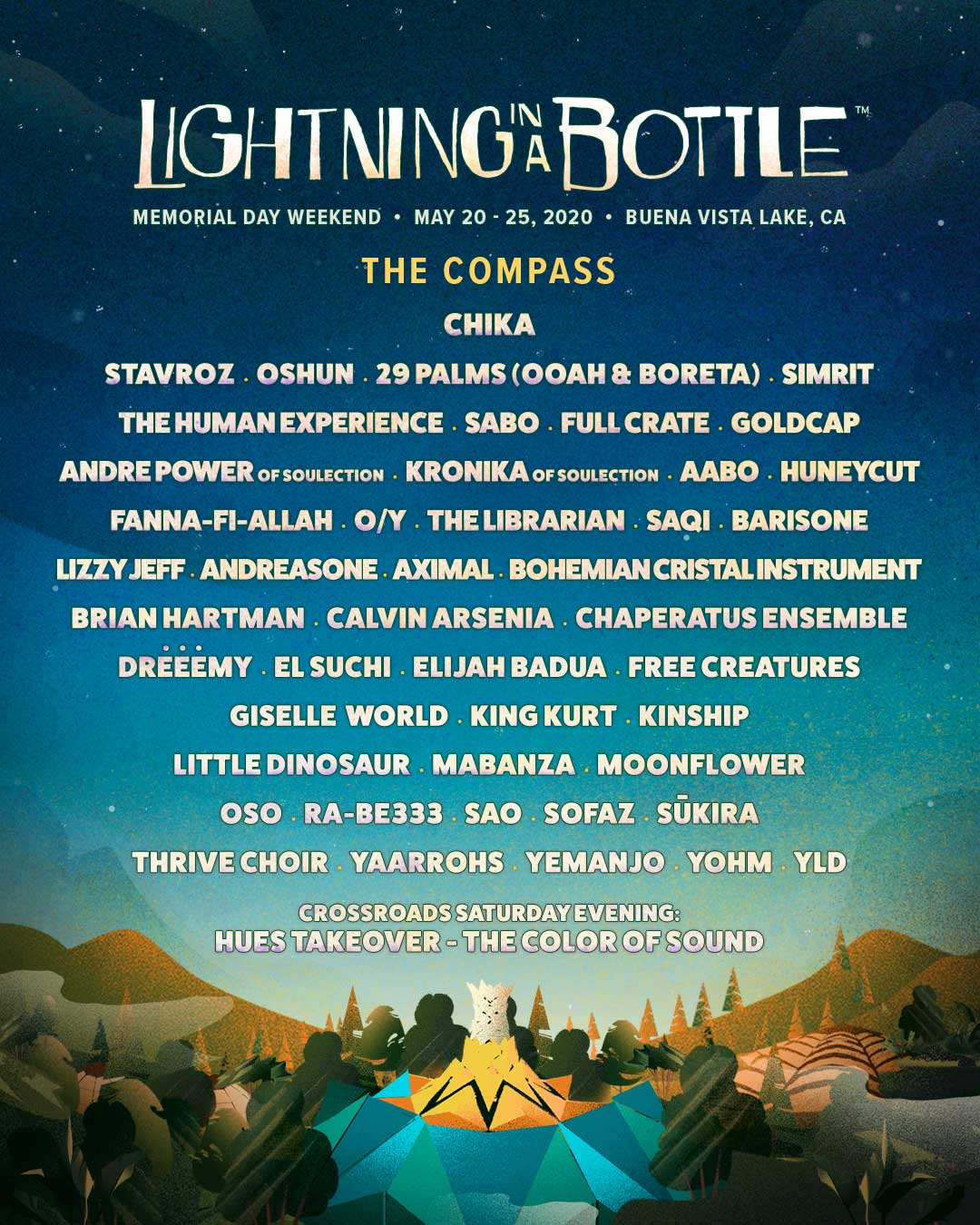 Lightning in a Bottle 2020 - The Compass Lineup