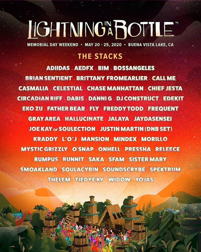 Lightning in a Bottle 2020 - The Stacks Lineup