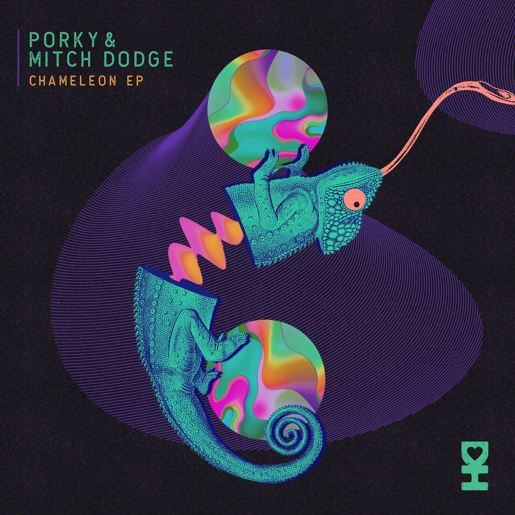Porky & Mitch Dodge Chameleon EP Desert Hearts