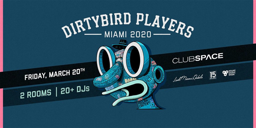 Dirtybird Players Miami, MMW, Club Space, Space Invaders