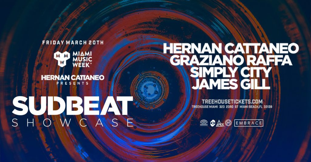Hernan Cattaneo Presents Sudbeat Showcase at Treehouse, Embrace