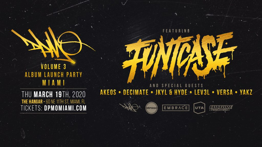 Funtcase and Special Guests at The Hangar, Embrace