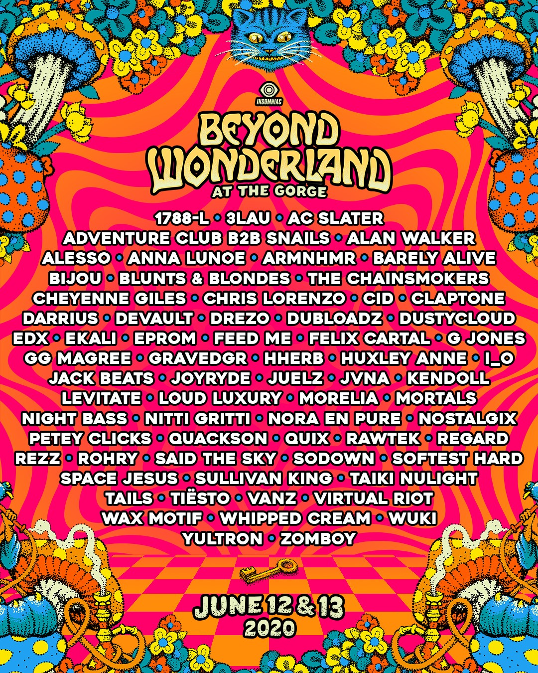 Beyond Wonderland at The Gorge 2020 Lineup