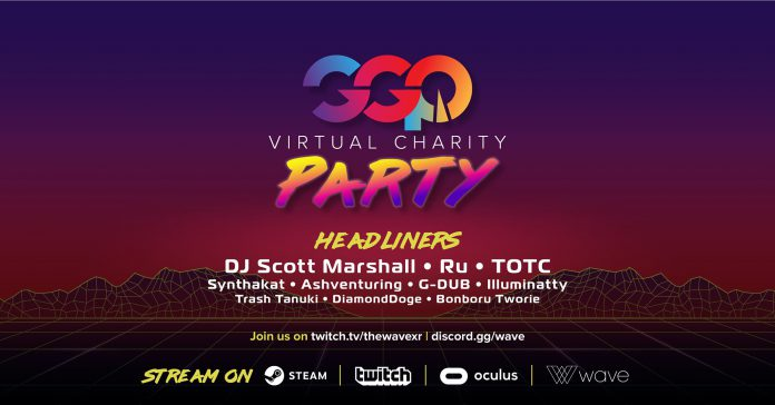 GGP Virtual Charity Party Wave