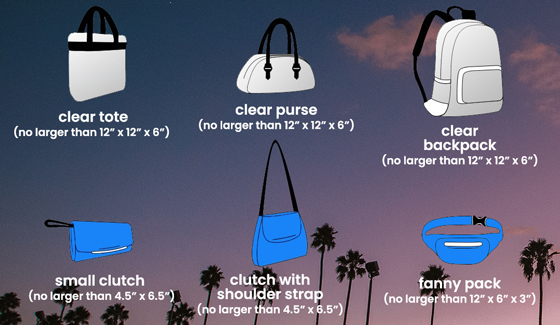 CRSSD Festival Clear Bag Policy