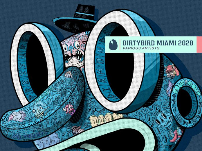 Dirtybird Miami 2020 Album Artwork