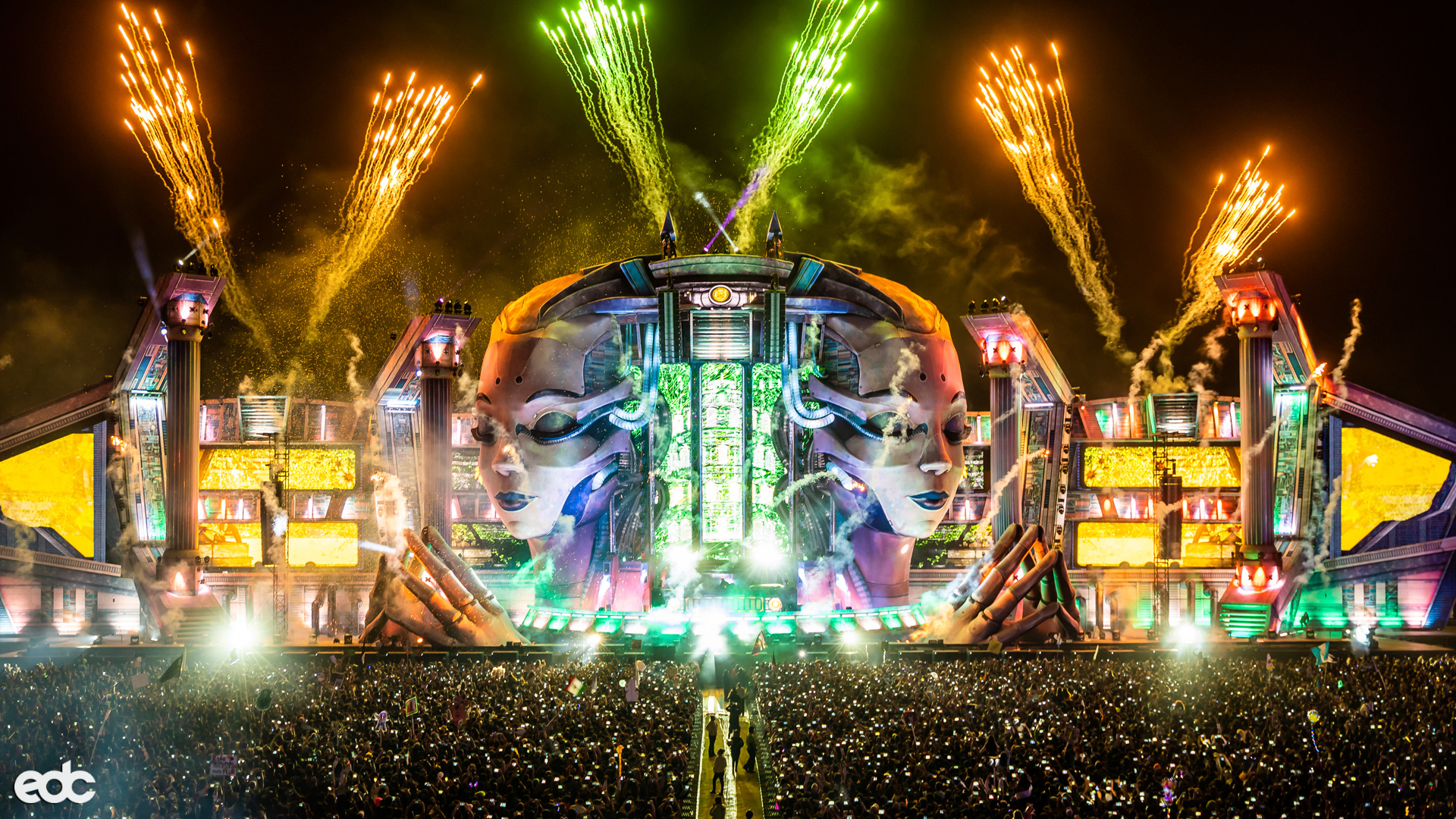 EDC Mexico 2020 with These Livesets