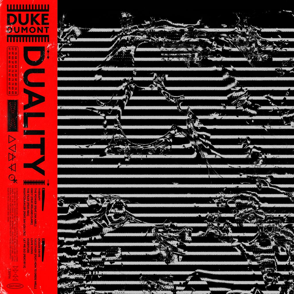 Duke Dumont - Duality - Album Cover