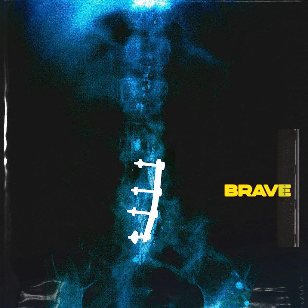 JOYRDYE - BRAVE - ALBUM COVER