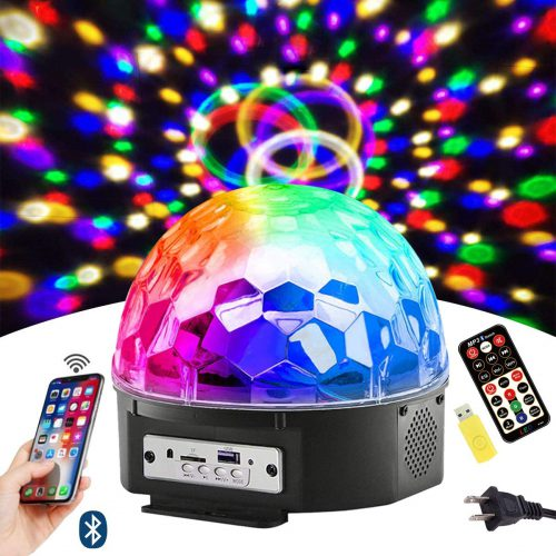 Bluetooth Disco Ball Light Rave Cave