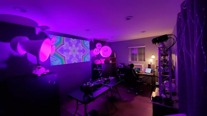 Home Studio Rave Cave