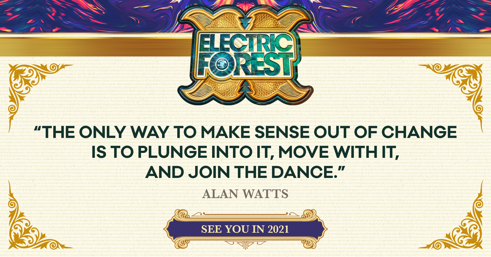 Electric Forest 2020 Cancelled, 2021 Announced