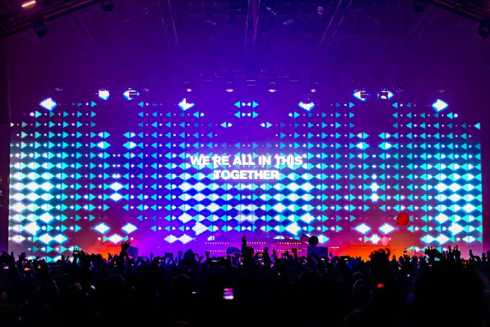 Above & Beyond concert We're All In This Together