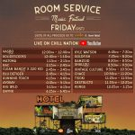 Room Service Festival - Chill Nation Schedule