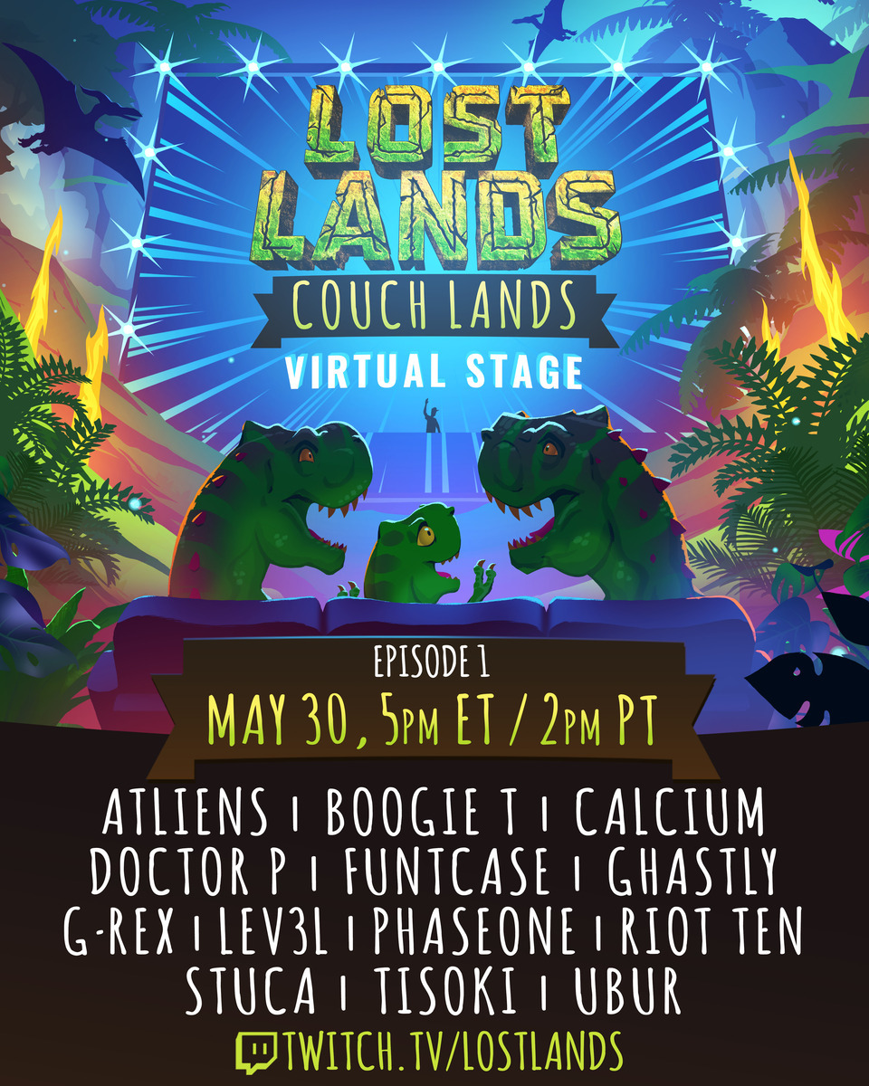 Lost Lands Episode One Lineup