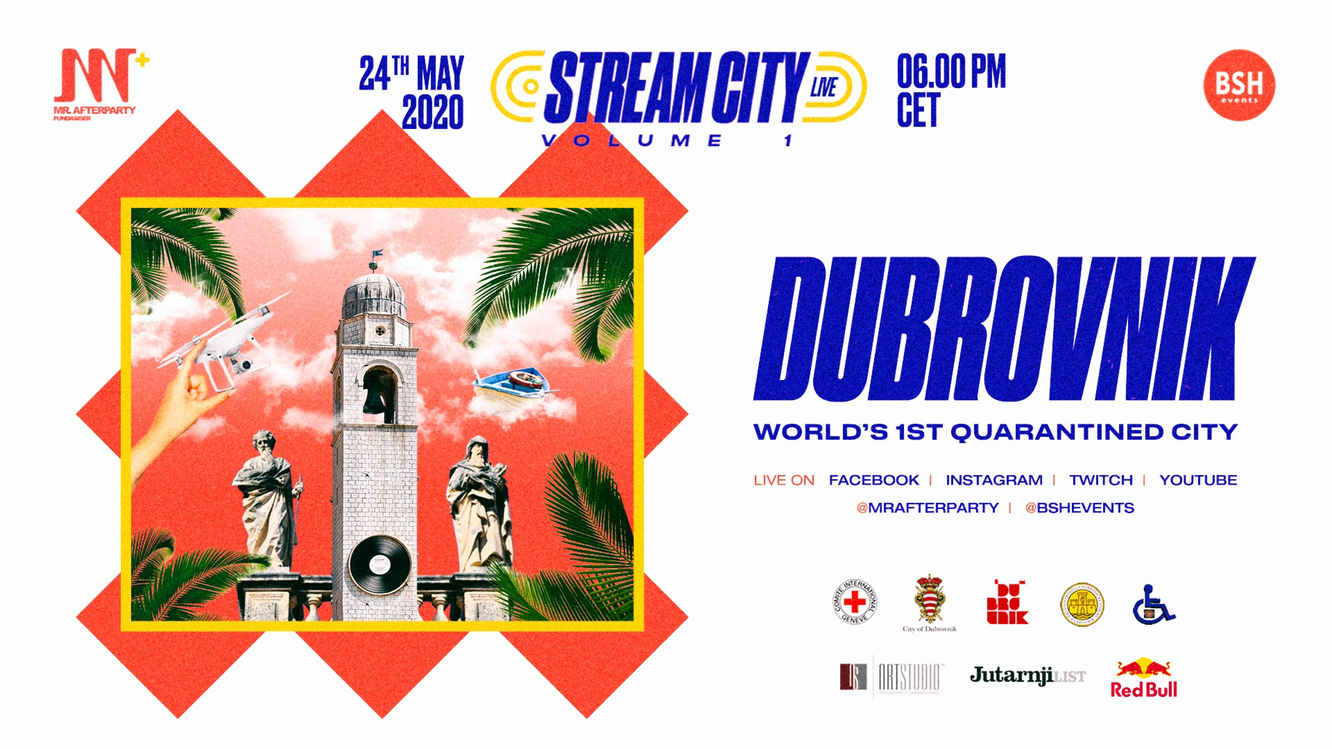 Stream City Live Flyer
