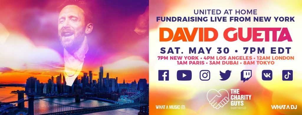 David Guetta United At Home New York