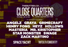 Close Quarters June 3 Lineup