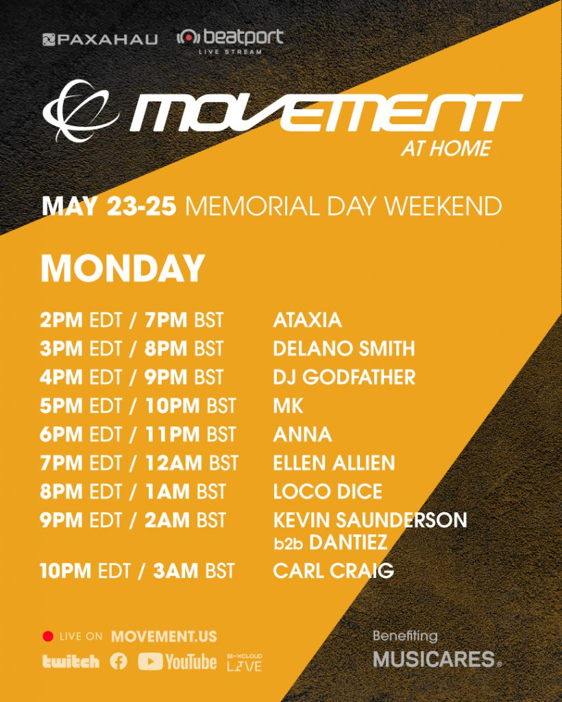Movement at Home Live Stream