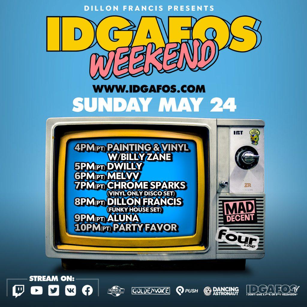 IDGAFOS Weekend Stream - Sunday