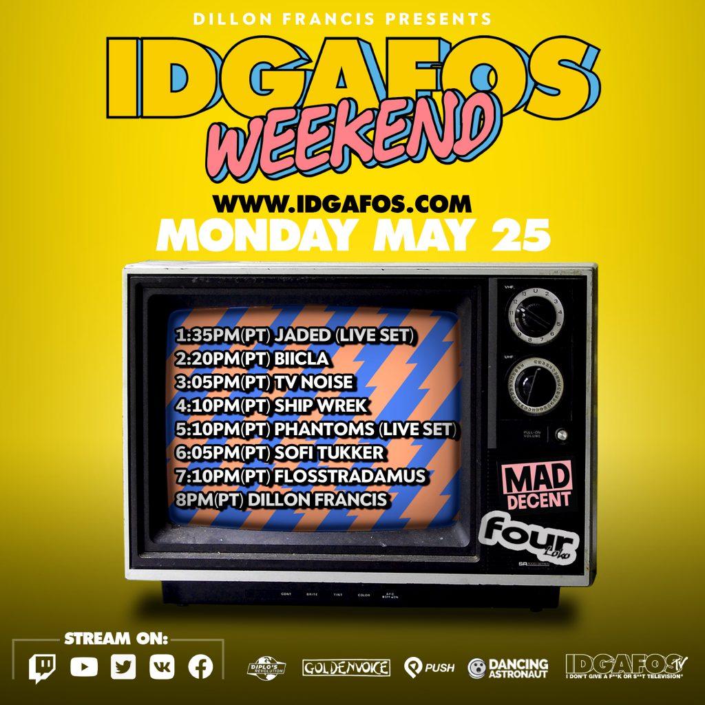 IDGAFOS Weekend Stream - Monday