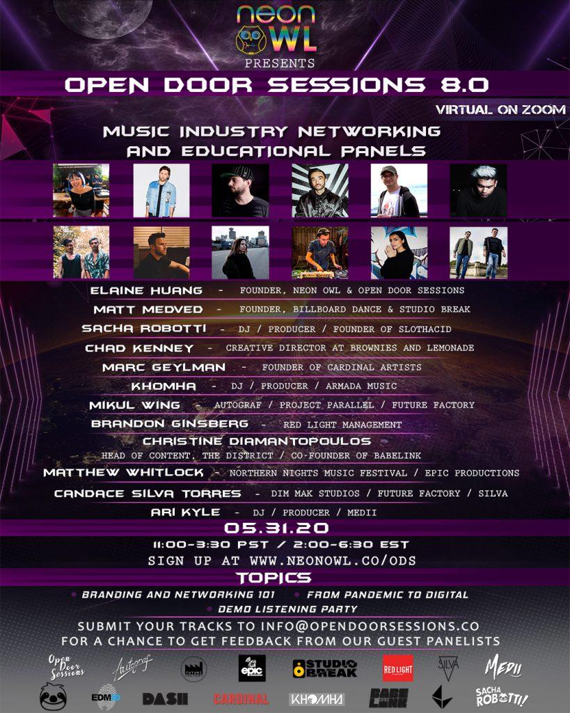 Open Door Sessions 8.0