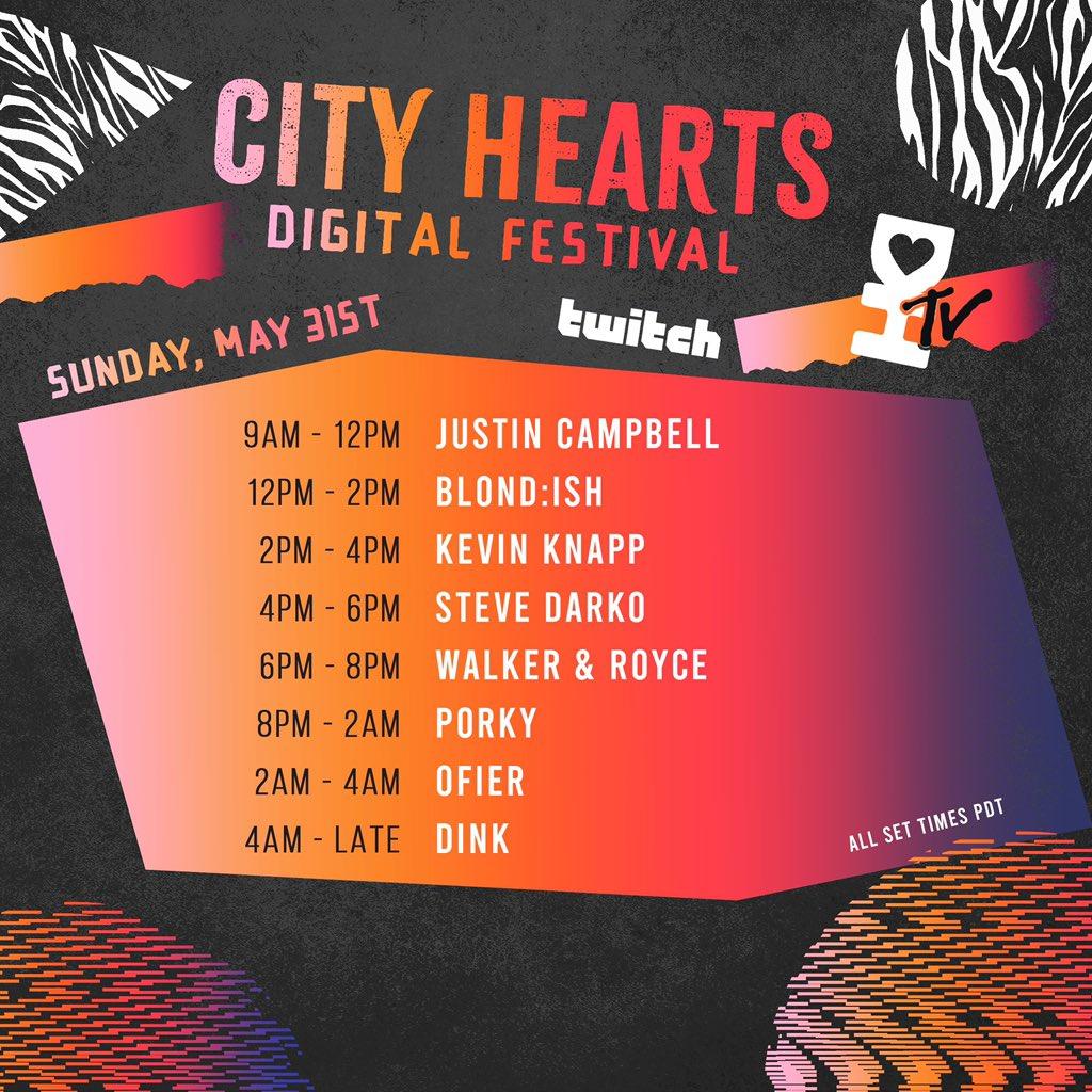 City Hearts Music Festival - Sunday