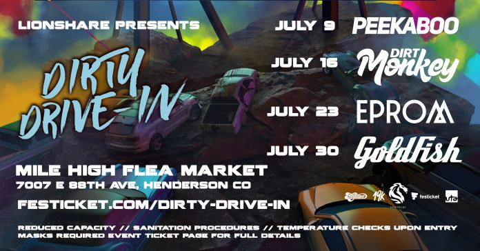 Dirty Drive-In Headliner Lineup