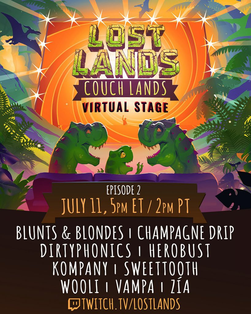Couch Lands Episode 2 Lineup
