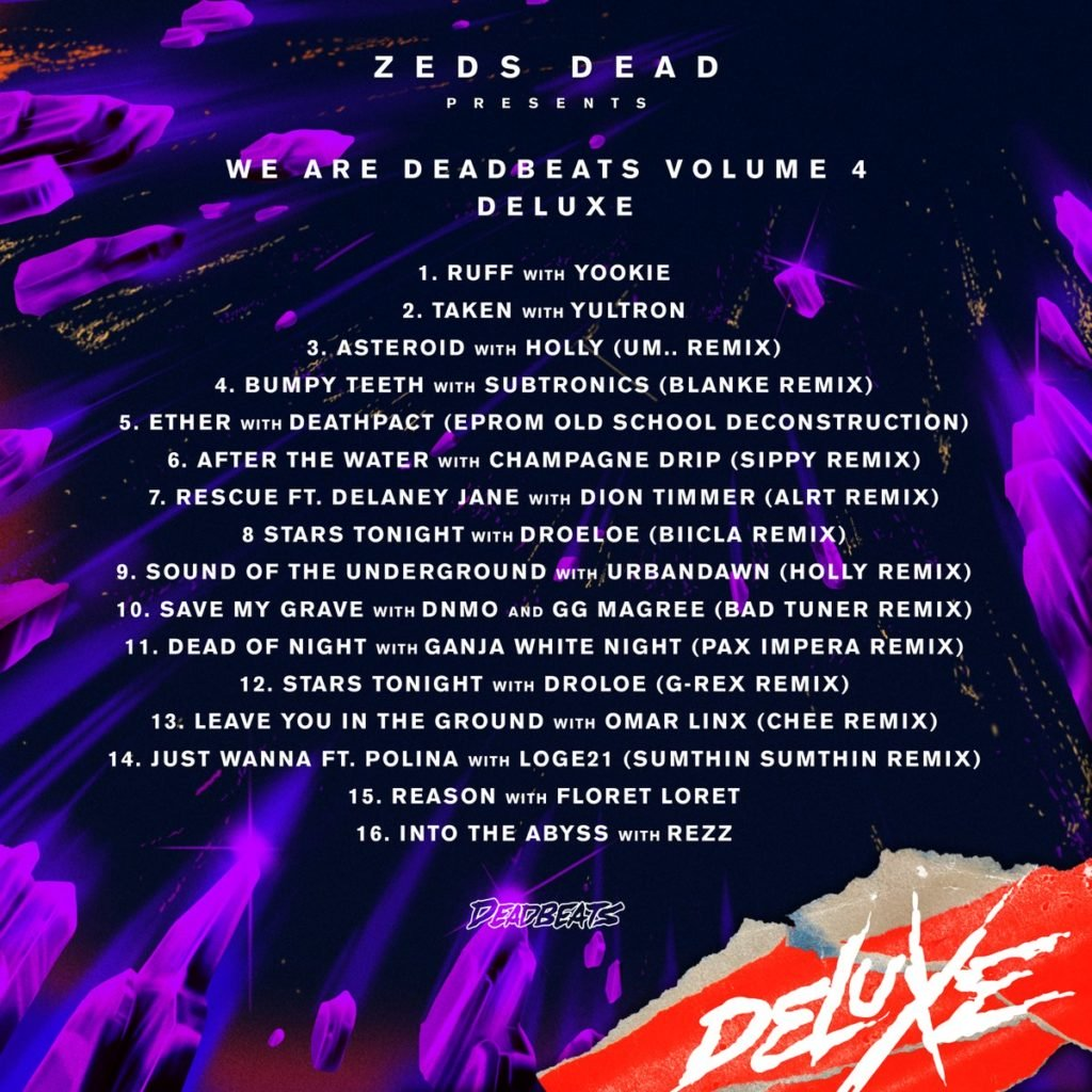 We Are Deadbeats Vol. 4 Deluxe Tracklist